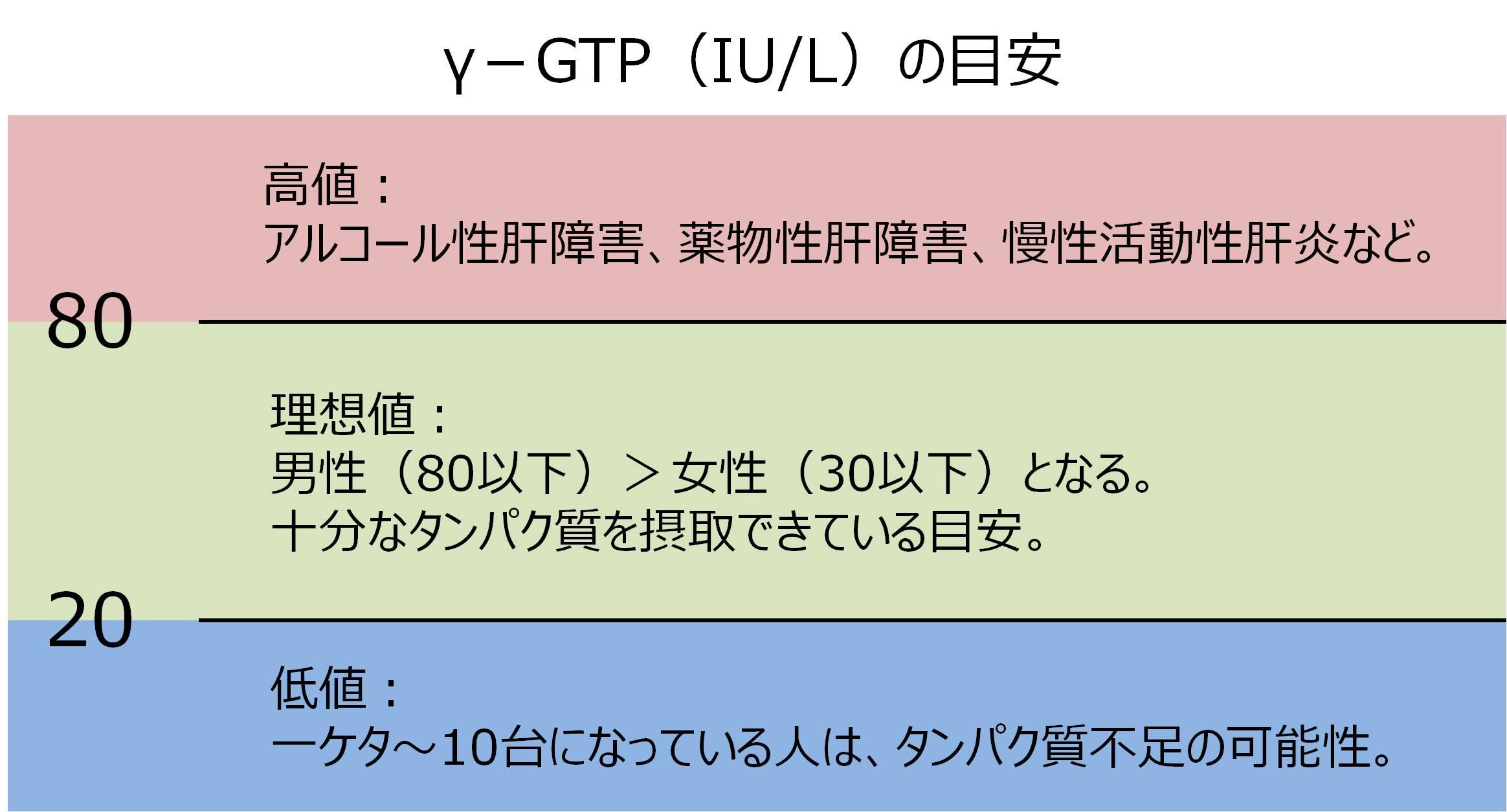 血液検査 γ-GTP 基準値